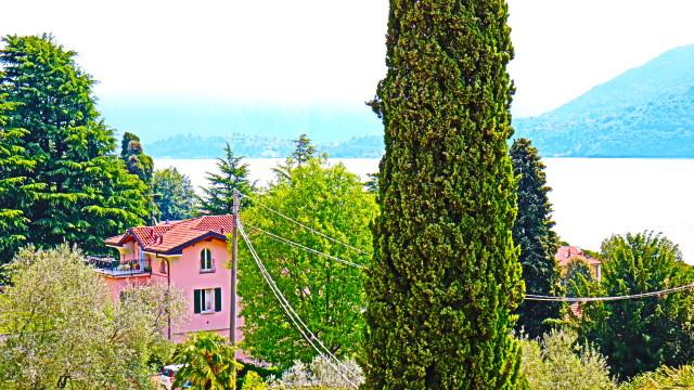 casa caratteristica vista lago