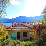 casa singola vista lago