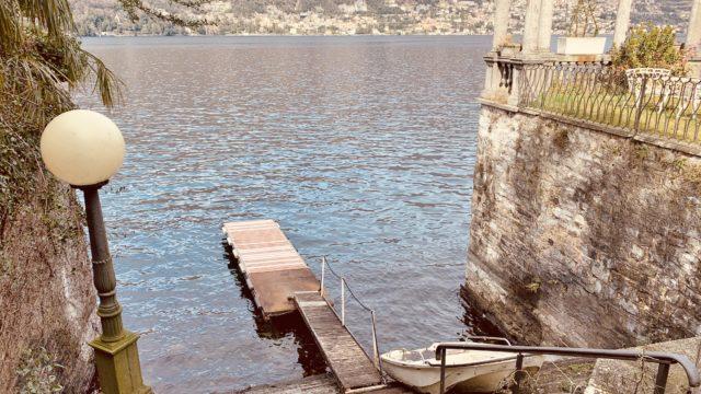 appartamento in riva al lago